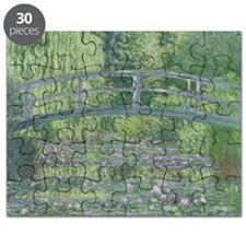 The Waterlily Pond: Green Harmony, 1899 by  Puzzle