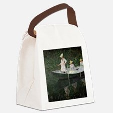 The Boat at Giverny, c.1887  by C Canvas Lunch Bag
