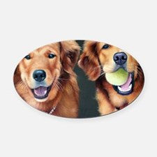 Goldens Oval Car Magnet