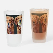 Goldens Drinking Glass