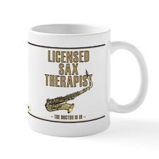 Licensed Sax Therapist Mug