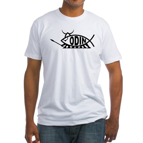 Odin Fish Fitted T-Shirt