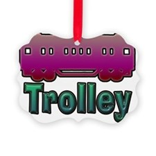 trolley Ornament
