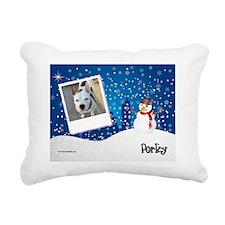 Jan_Porky Rectangular Canvas Pillow