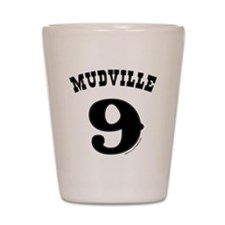 Mudville9 (black) Shot Glass