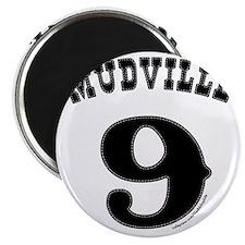 Mudville9 (black) Magnet
