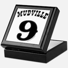 Mudville9 (black) Keepsake Box