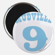 Mudville9 (baby blue) Magnet