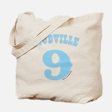 Mudville9 (baby blue) Tote Bag