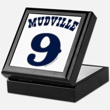 Mudville9 (blue) Keepsake Box