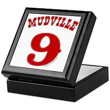 Mudville9 (red) Keepsake Box