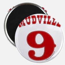 Mudville9 (red) Magnet