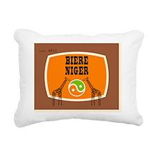 BiereNiger Rectangular Canvas Pillow