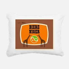 BiereNiger Rectangular Canvas Pillow