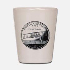 quarter_north_carolina_600 Shot Glass