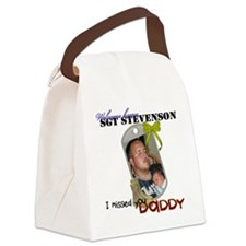 iraq stunk request back 2 Canvas Lunch Bag