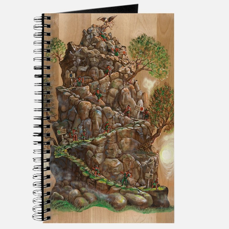 Scout Eagle Mountain 24x36 Journal