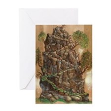 Scout Eagle Mountain 24x36 Greeting Card
