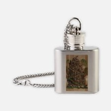 Scout Eagle Mountain 24x36 Flask Necklace