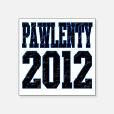"Pawlenty 2012 Square Sticker 3"" x 3"""