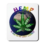 Hemp Planet Mousepad