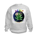 Hemp Planet Kids Sweatshirt