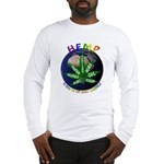 Hemp Planet Long Sleeve T-Shirt