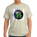 Hemp Planet Ash Grey T-Shirt