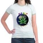 Hemp Planet Jr. Ringer T-Shirt