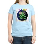 Hemp Planet Women's Pink T-Shirt