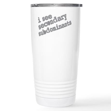 secondary subdominants Stainless Steel Travel Mug