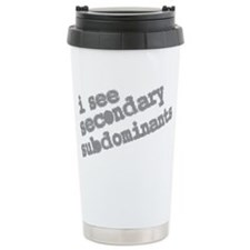 secondary subdominants Travel Mug