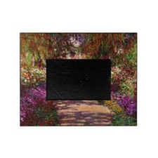 A Pathway in Monets Garden, Giverny, Picture Frame