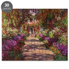 A Pathway in Monets Garden, Giverny, 1902 b Puzzle