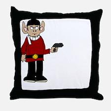 monkeyspockt Throw Pillow