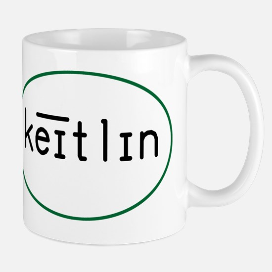 Caitlin Phonetic Oval 10x10_apparel Mug