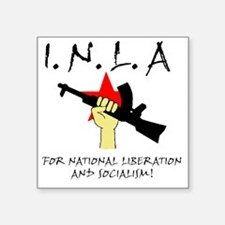 "inla riflestar Square Sticker 3"" x 3"""
