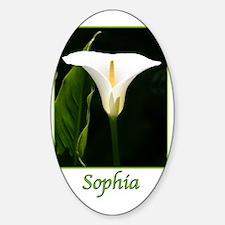 SophiaCalaLily Sticker (Oval)