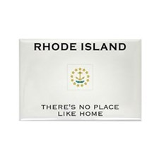 Rhode Island Rectangle Magnet (10 pack)