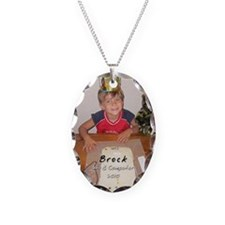 2010_ornament_Brock Necklace Oval Charm