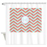 Test Template Shower Curtain