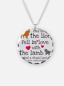 Lion  Lamb Necklace