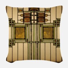 Prairie Glass Woven Throw Pillow