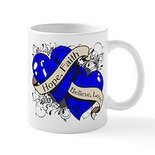 ALS Hope Faith Dual Hearts Mug