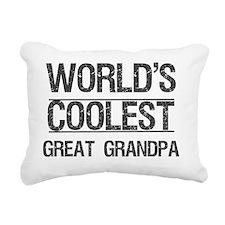 cool great grandpa Rectangular Canvas Pillow