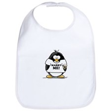 Marry Me Penguin with Ring Bib