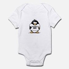 Marry Me Penguin with Ring Infant Bodysuit