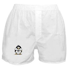 Marry Me Penguin with Ring Boxer Shorts