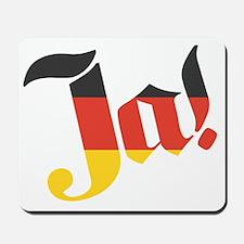 ja-German Flag Mousepad