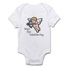 Baby's First Valentine's Day Infant Bodysuit